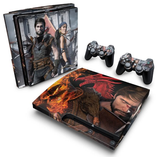 PS3 Slim Skin - Dragon Age 2