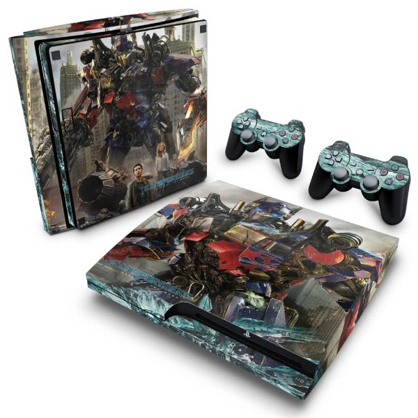 PS3 Slim Skin - Transformers Dark of the Moon
