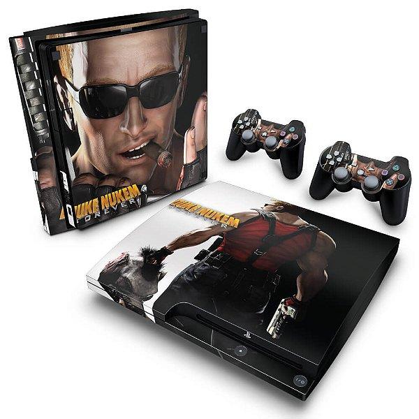 PS3 Slim Skin - Duke Nukem Forever