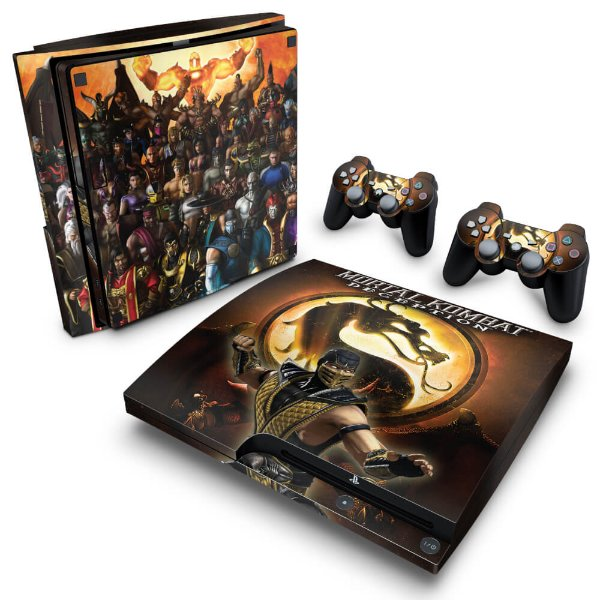 PS3 Slim Skin - Mortal Kombat #A