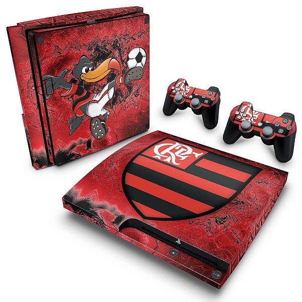 PS3 Slim Skin - Flamengo