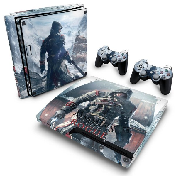 PS3 Slim Skin - Assassins Creed Rogue