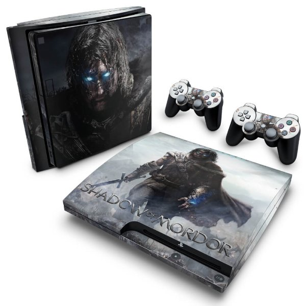 PS3 Slim Skin - Middle Earth: Shadow of Murdor
