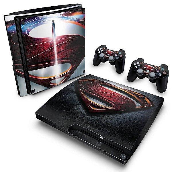 PS3 Slim Skin - Superman - Man of Steel
