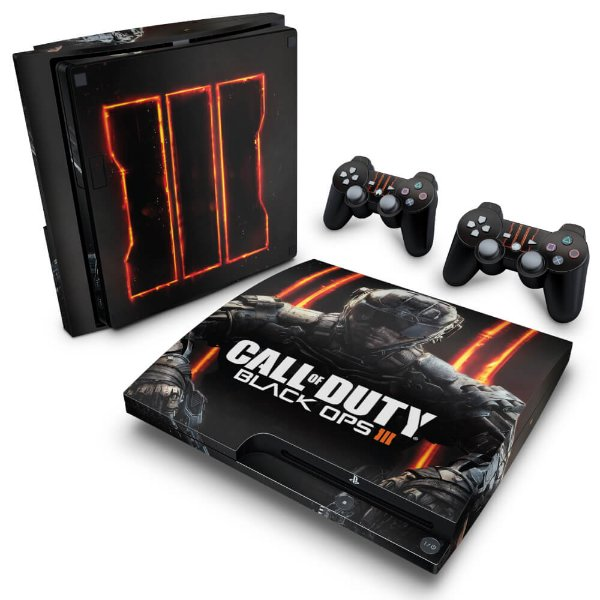 PS3 Slim Skin - Call of Duty: Black Ops 3