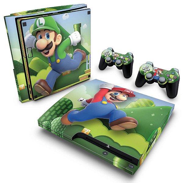 PS3 Slim Skin - Mario & Luigi