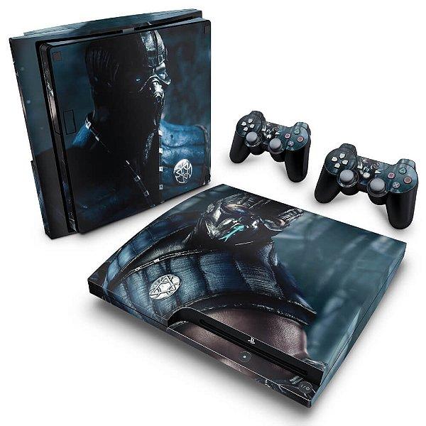 PS3 Slim Skin - Mortal Kombat X Subzero