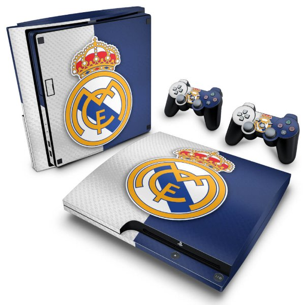 PS3 Slim Skin - Real Madrid