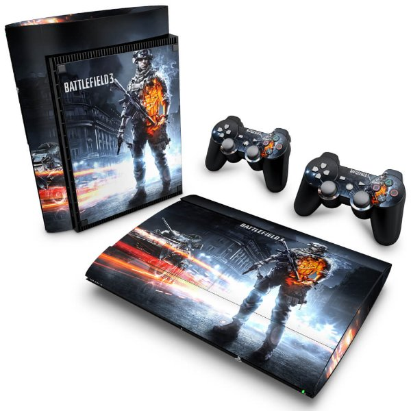 PS3 Super Slim Skin - Battlefield 3