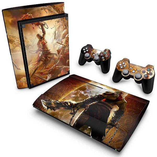 PS3 Super Slim Skin - God of War 2