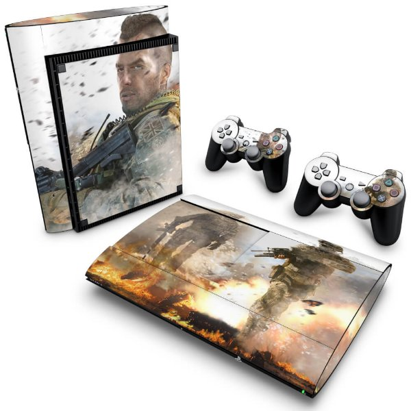 PS3 Super Slim Skin - Modern Warfare 2