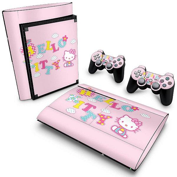 PS3 Super Slim Skin - Hello Kitty
