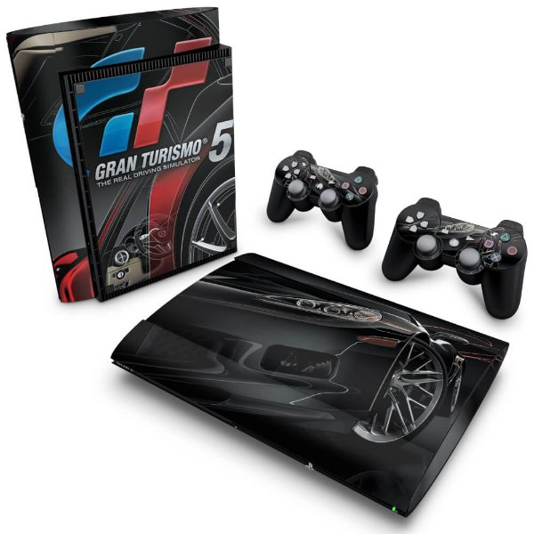 PS3 Super Slim Skin - Gran Turismo #A