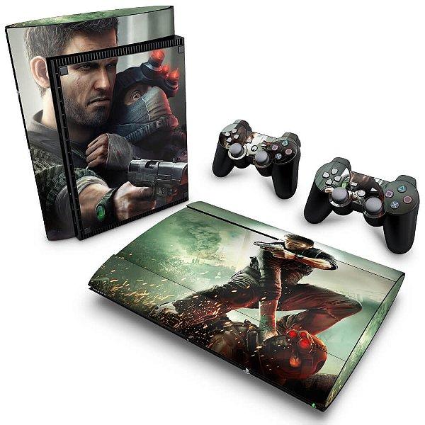 PS3 Super Slim Skin - Splinter Cell Conviction