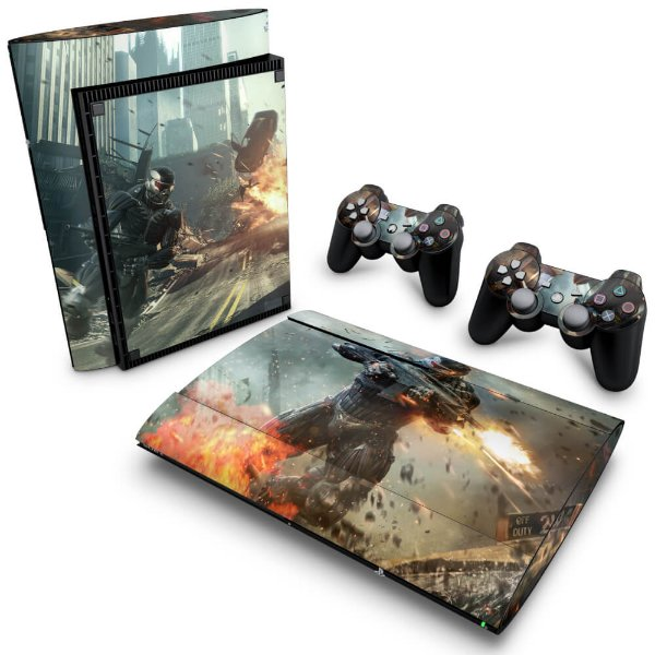 PS3 Super Slim Skin - Crysis 2
