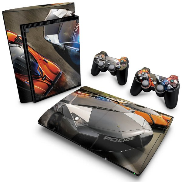 PS3 Super Slim Skin - Need for Speed Hot Pursuit