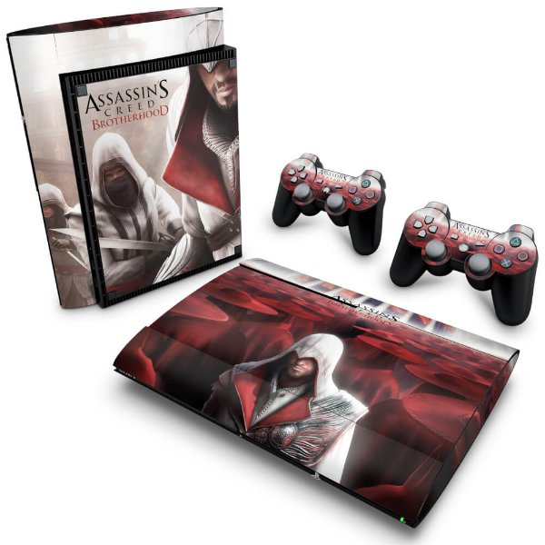 PS3 Super Slim Skin - Assassins Creed Brotherhood #A