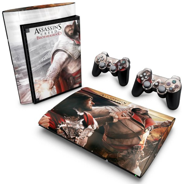PS3 Super Slim Skin - Assassins Creed Brotherhood #B