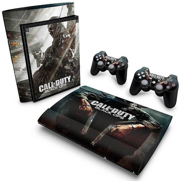 PS3 Super Slim Skin - Call of Duty Black Ops