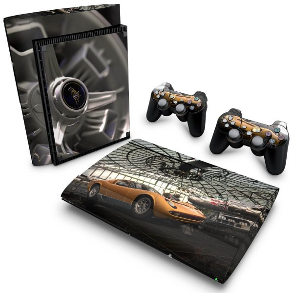 PS3 Super Slim Skin - Gran Turismo #B