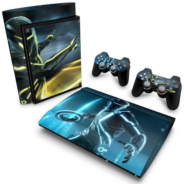 PS3 Super Slim Skin - Tron Evolution