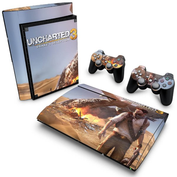 PS3 Super Slim Skin - Uncharted 3