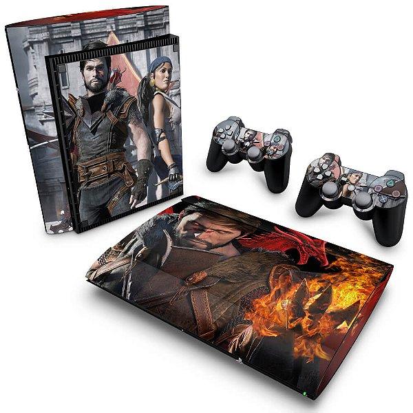 PS3 Super Slim Skin - Dragon Age 2