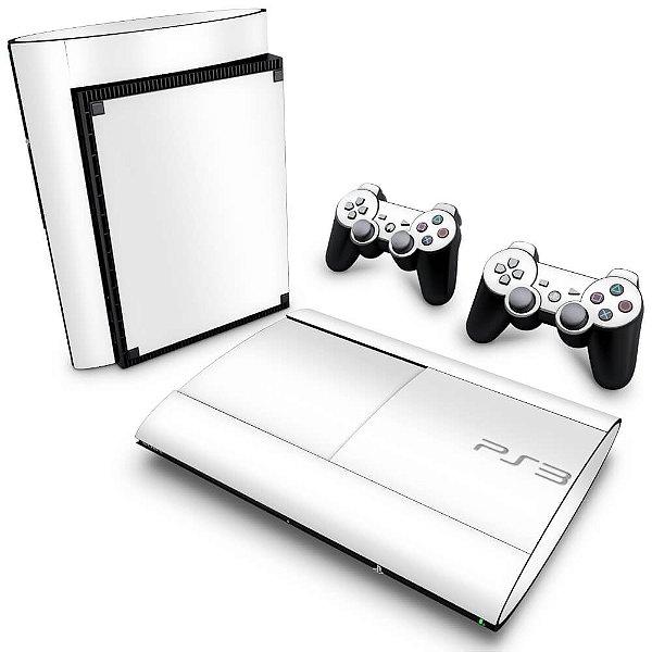 PS3 Super Slim Skin - Branco