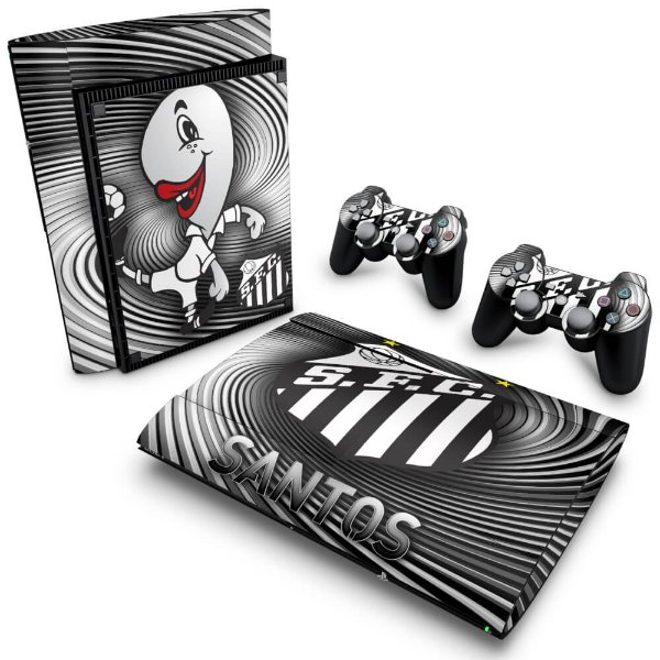 PS3 Super Slim Skin - Santos