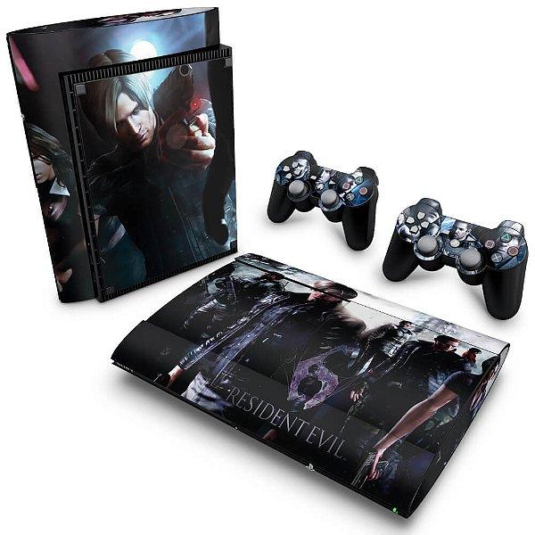 PS3 Super Slim Skin - Resident Evil 6