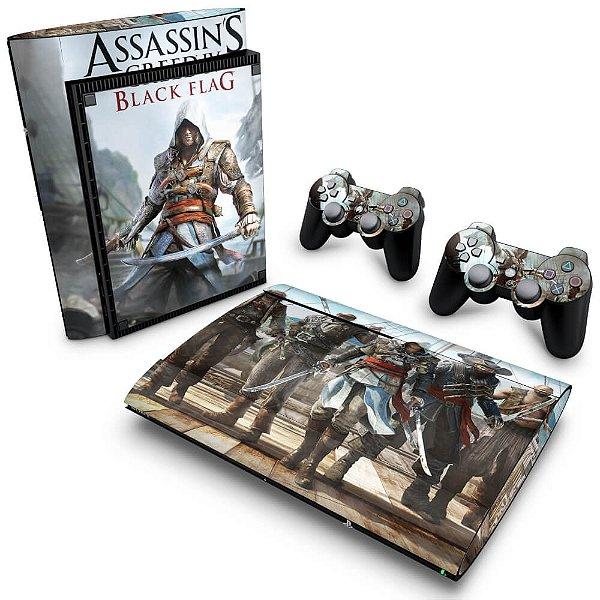PS3 Super Slim Skin - Assassins Creed IV Black Flag