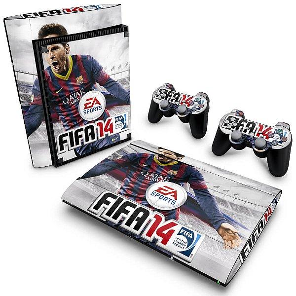 PS3 Super Slim Skin - FIFA 14