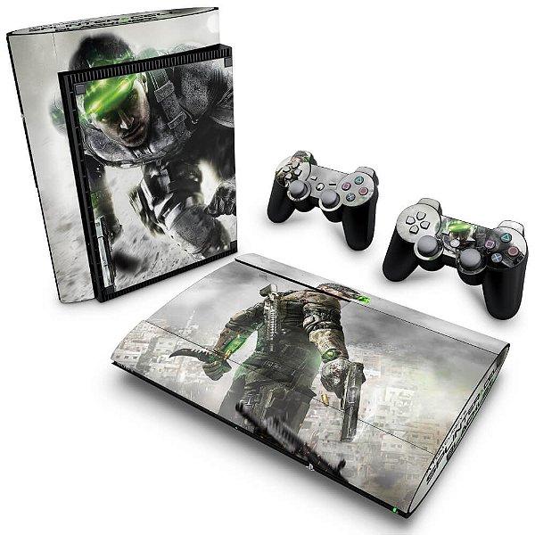 PS3 Super Slim Skin - Splinter Cell Blacklist