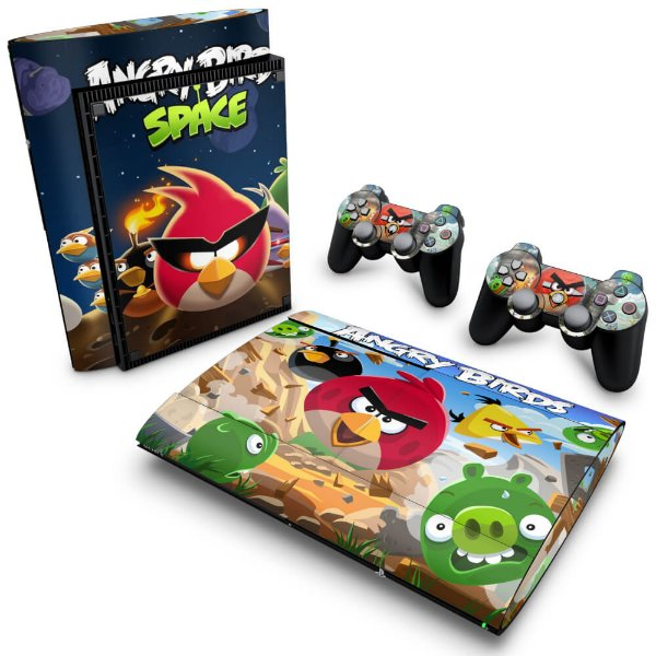 PS3 Super Slim Skin - Angry Birds