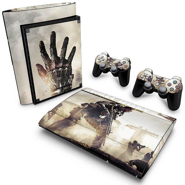 PS3 Super Slim Skin - Call of Duty Advanced Warfare