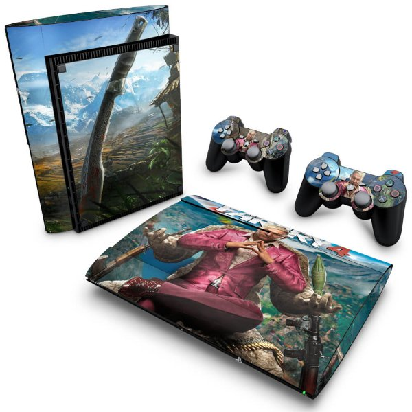 PS3 Super Slim Skin - Far Cry 4