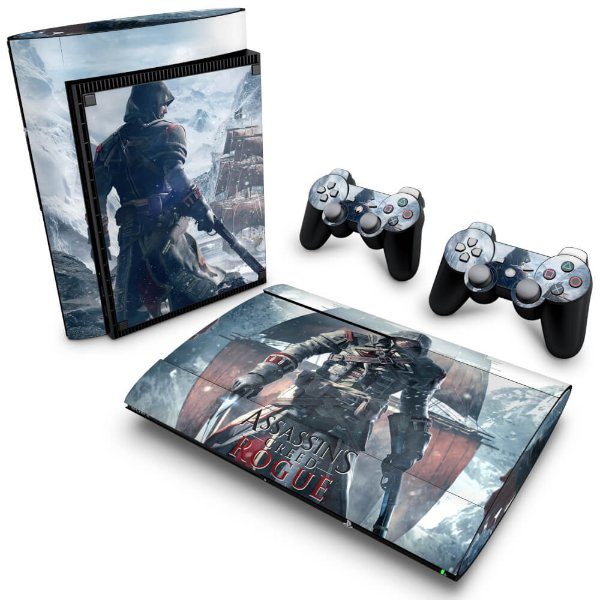 PS3 Super Slim Skin - Assassins Creed Rogue