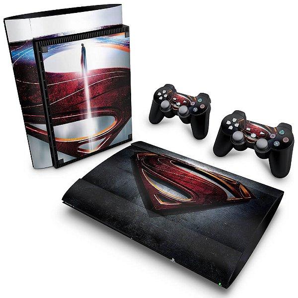 PS3 Super Slim Skin - Superman - Man of Steel