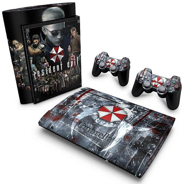 PS3 Super Slim Skin - Resident Evil - Umbrella