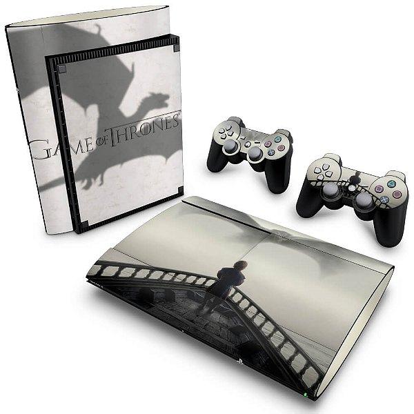 PS3 Super Slim Skin - Game of Thrones #B