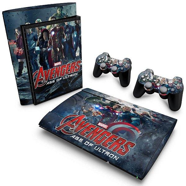 PS3 Super Slim Skin - Vingadores 2: A Era de Ultron