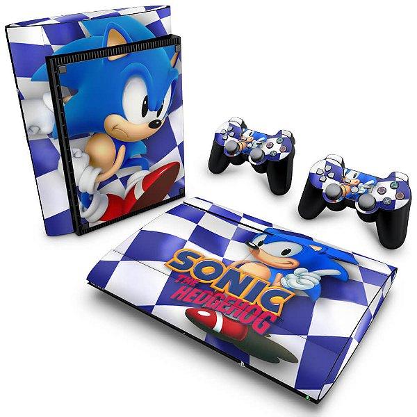 PS3 Super Slim Skin - Sonic The Hedgehog