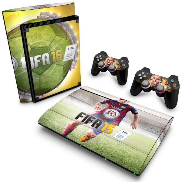 PS3 Super Slim Skin - FIFA 15
