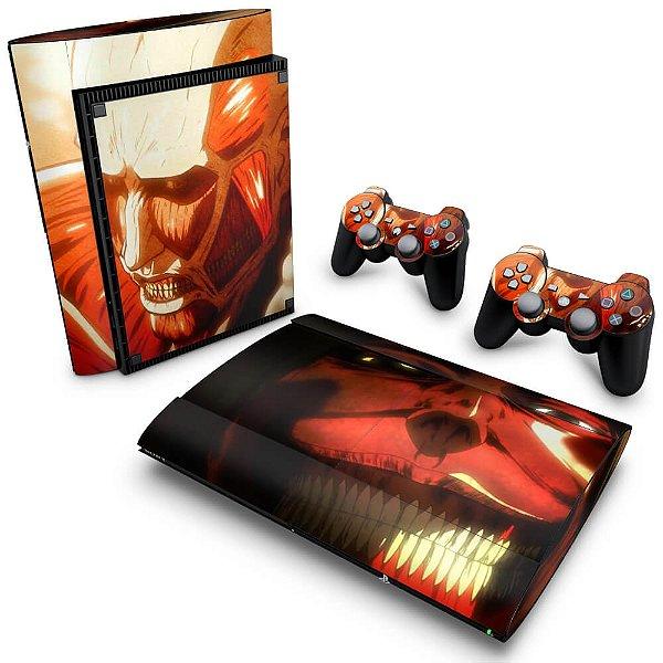 PS3 Super Slim Skin - Attack on Titan #B