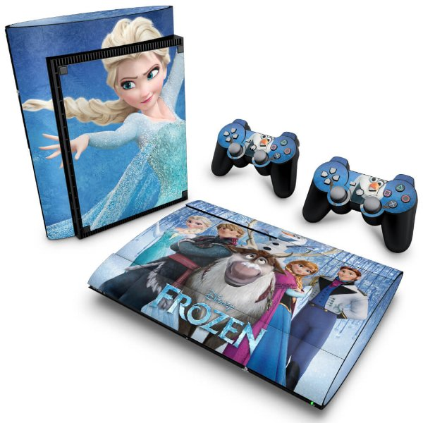 PS3 Super Slim Skin - Frozen