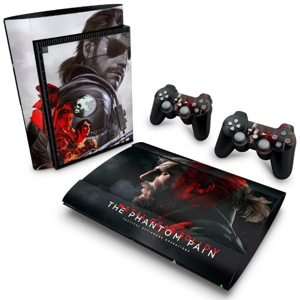 PS3 Super Slim Skin - Metal Gear Solid 5: The Phantom Pain