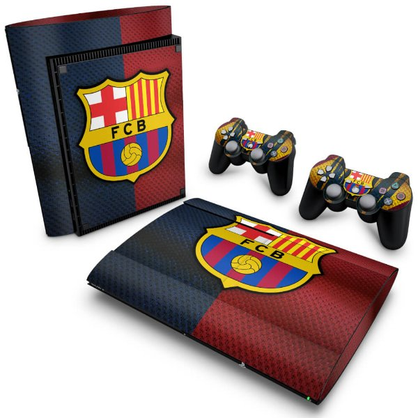 PS3 Super Slim Skin - Barcelona