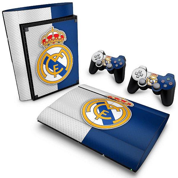 PS3 Super Slim Skin - Real Madrid
