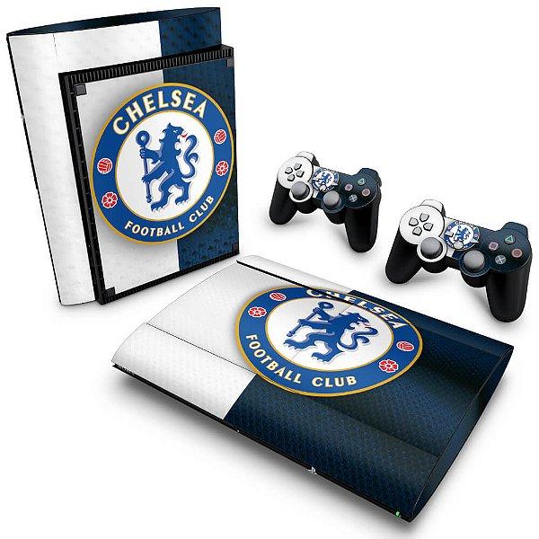 PS3 Super Slim Skin - Chelsea