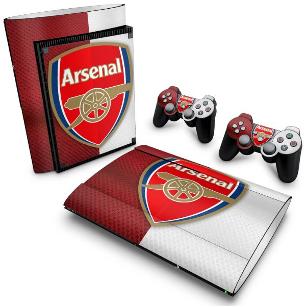 PS3 Super Slim Skin - Arsenal